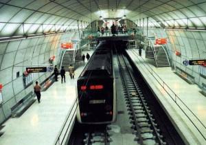 Estación del Metro de Bilbao