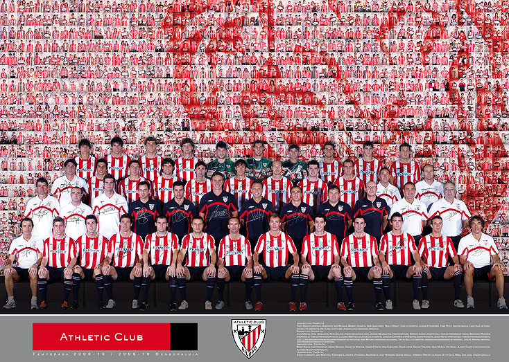 Plantilla Athletic Bilbao 2009-2010