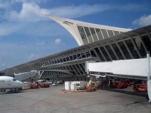 Detalle del Aeropuerto de Bilbao