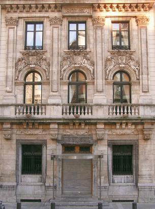 Edificio de la Bolsa de Bilbao