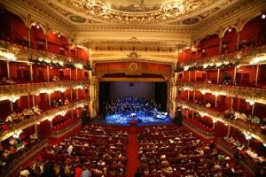 Detalle del interior del Teatro Arriaga