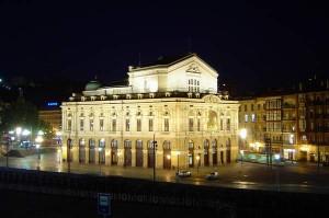 Teatro Arriaga de Noche