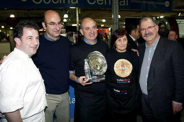 Itxaso Cisneros (Bar Izaro) ganadora de la Mejor Tortilla de Patatas
