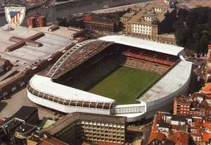 Vista Aerea de San Mames, La Catedral del Futbol