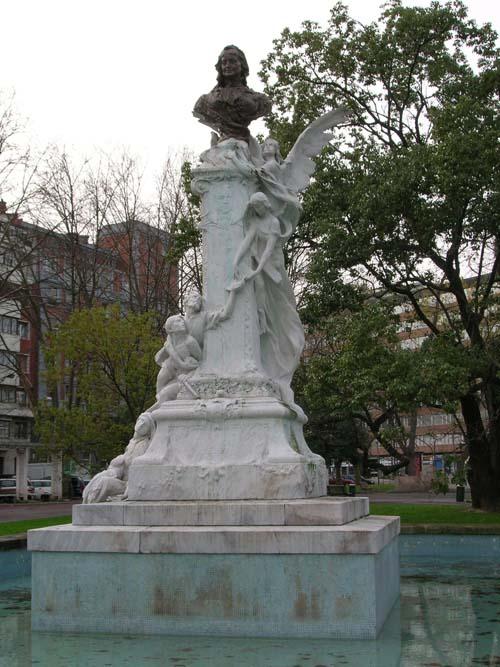Parque Doña Casilda - Busto dedicado a Doña Casilda de Iturrizar