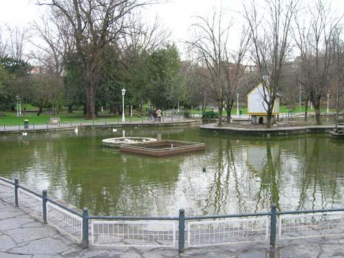 Parque Doña Casilda - Estanque de los Patos