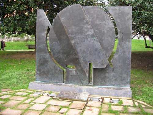 Parque Doña Casilda - Recuerdo a las Victimas del Franquismo