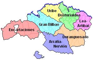 Comarcas de Bizkaia - Gran Bilbao