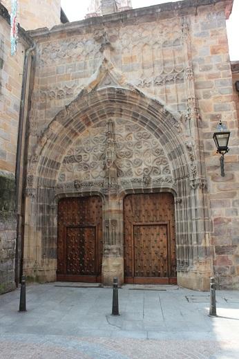 Catedral de Santiago (Bilbao), Puerta de los Peregrinos