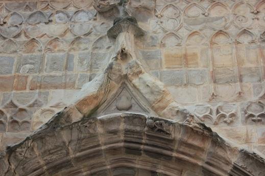 Simbolo Jacobeo en la Catedral de Santiago, Bilbao