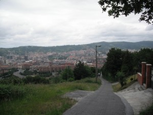 Camino ascenso Pagasarri 02 300x225 Camino de ascenso al Pagasarri