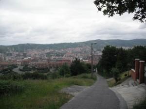 Camino de ascenso al Pagasarri: Atajo