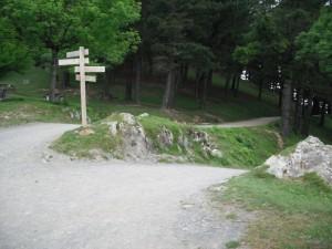 Camino de ascenso al Pagasarri: Campa del Pagasarri